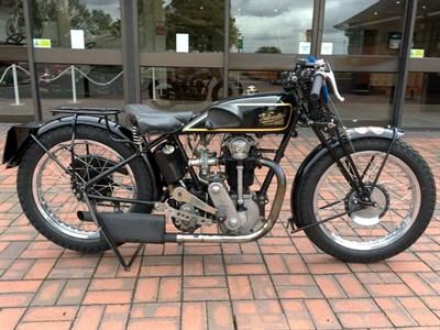 Lot 54-1929 Velocette KN