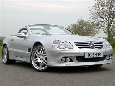 Lot 23-2003 Mercedes-Benz SL55 AMG Brabus K8