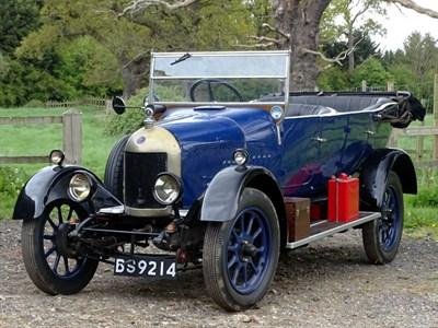Lot 16-1926 Morris Cowley 'Bullnose' Tourer