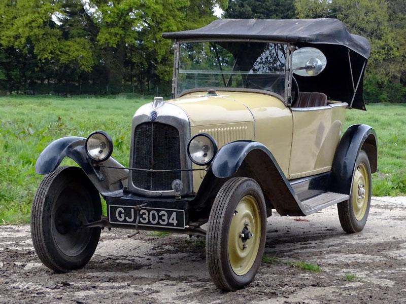 Lot 20-1922 Citroen Type C 5CV 'Cloverleaf' Tourer