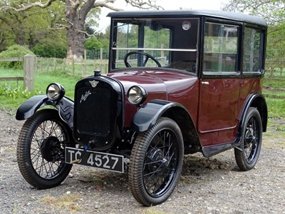 Lot 18-1926 Austin Seven Top Hat Saloon