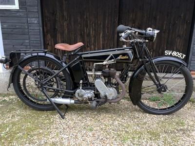 Lot 20-1924 Humber 2 3/4hp