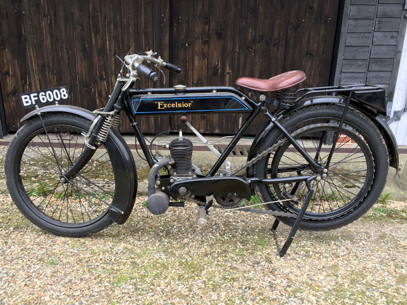 Lot 22-1923 Excelsior Junior