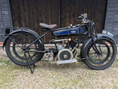 Lot 122-1923 Dunelt 499cc