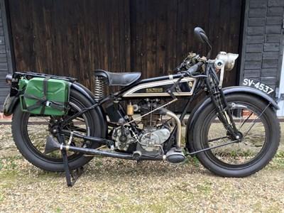 Lot 123-1925 Rudge 500cc