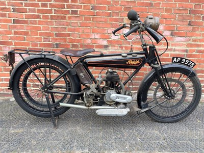 Lot 125-1924 Raleigh 2 3/4hp