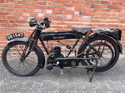 Lot 126-1923 Excelsior Lightweight