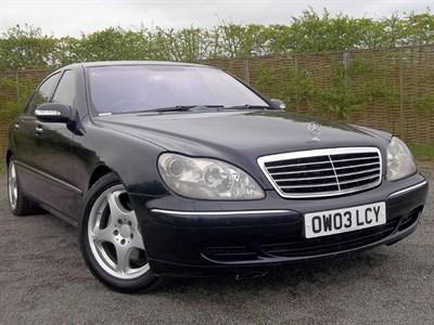 Lot 37-2003 Mercedes-Benz S 500
