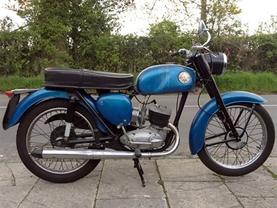 Lot 89-1966 BSA D10 Bantam