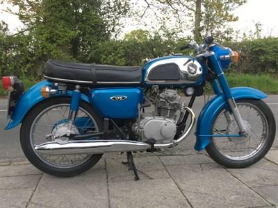 Lot 111-1975 Honda CD175 K4