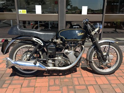 Lot 69-1966 Velocette Thruxton