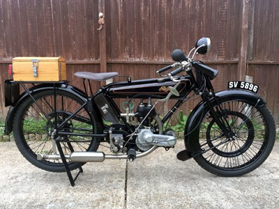Lot 3-1923 Raleigh Model 5S