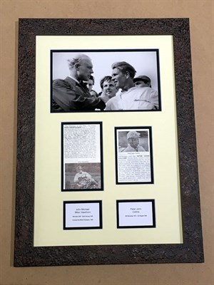 Lot 58-Mike Hawthorn / Peter Collins Signed Presentation