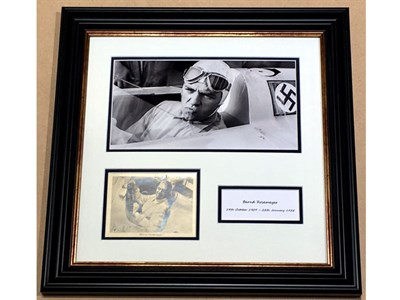 Lot 53-Bernd Rosemeyer / Auto Union Signed Presentation
