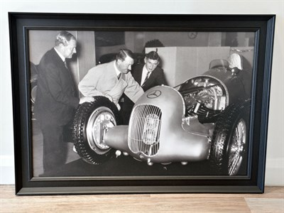 Lot 22-'Adolf Hitler and the Mercedes-Benz W25'