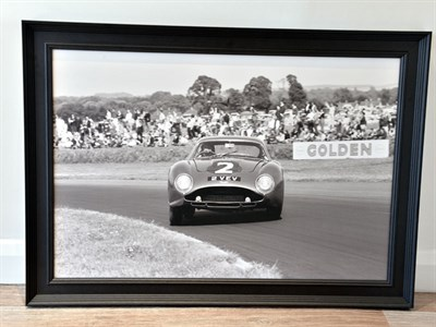 Lot 9-'Jim Clark in the Aston Martin DB4GT Zagato'