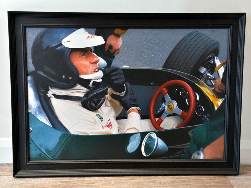 Lot 25-'Jim Clark in the Lotus 49'
