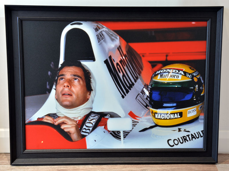 Lot 52-'Ayrton Senna at the Japanese Grand Prix, 1992'