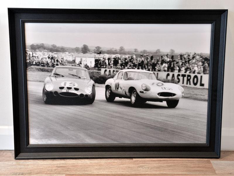 Lot 3-'Ferrari 250 GTO vs Jaguar E-type'