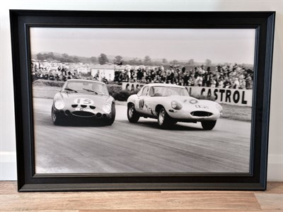 Lot 3-'Ferrari 250 GTO vs Jaguar E-type'