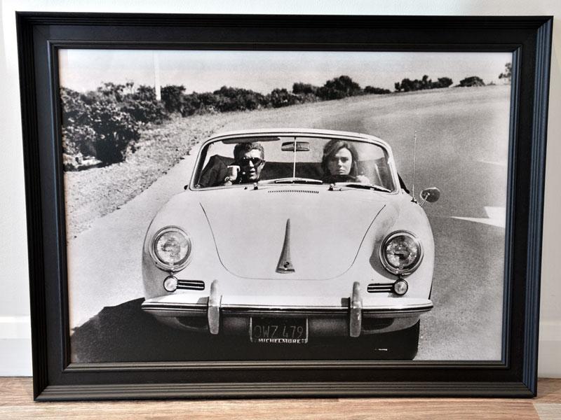 Lot 55-'Steve McQueen & Jacqueline Bisset in a Porsche 356'