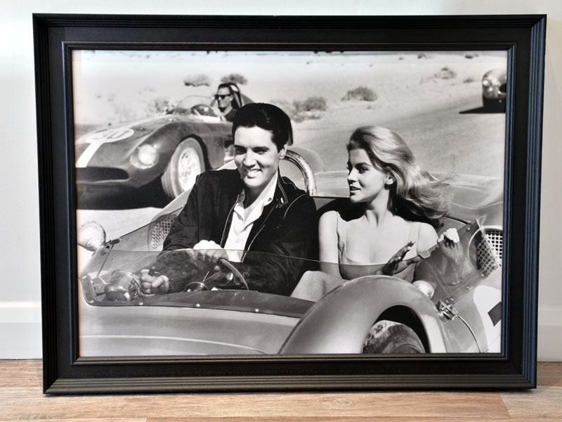 Lot 18-'Elvis Presley and Ann-Margaret in Viva Las Vegas'