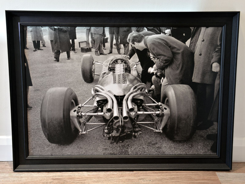 Lot 63-'Ferrari 312 at the British Grand Prix'