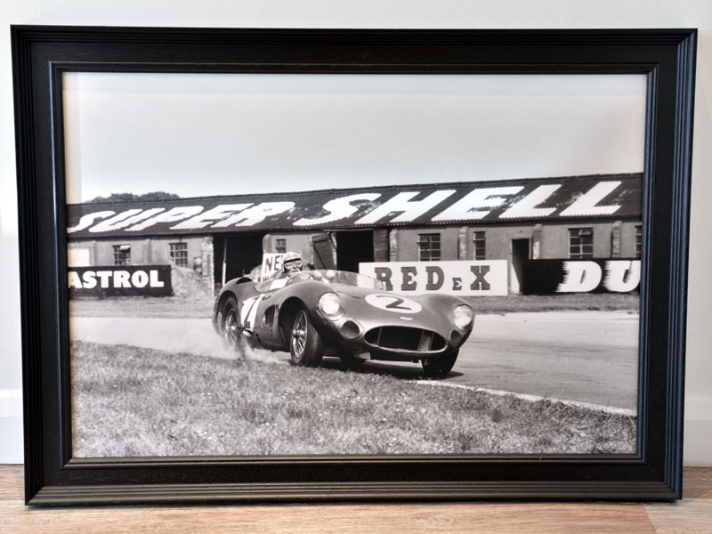 Lot 73-'Carroll Shelby at Woodcote, 1959'