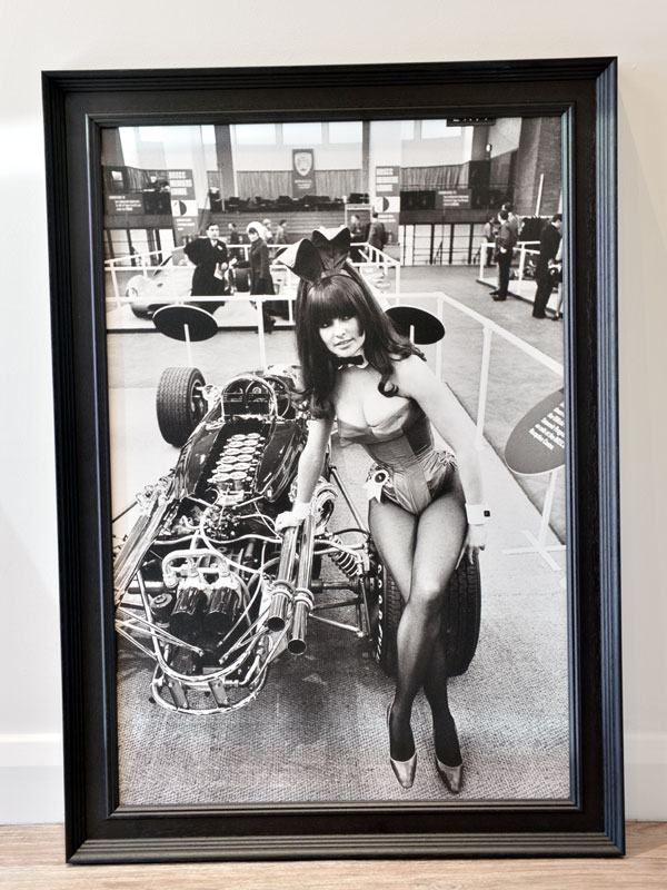 Lot 7-'Bunny Girl at the '67 Motor Show'