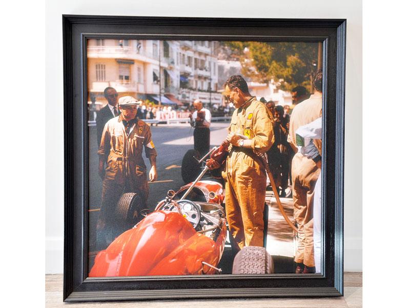 Lot 5-'Ferrari Pit Stop at the Monaco Grand Prix, 1963'