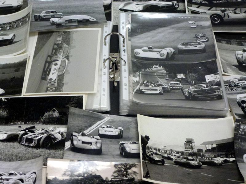 Lot 20-An Album of Motor Racing Photographs