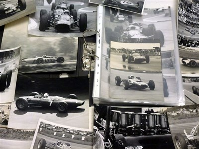 Lot 35-An Album of Motor Racing Photographs