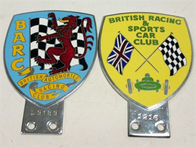 Lot 72-Two Car Badges