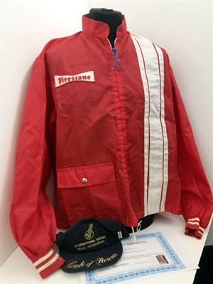 Lot 21-Firestone Racing Jacket, worn by Rob Walker