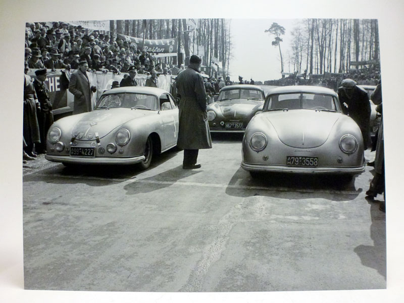 Lot 26-Two Porsche 356 Artworks
