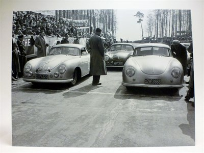 Lot 26-Two Porsche 356 Artworks