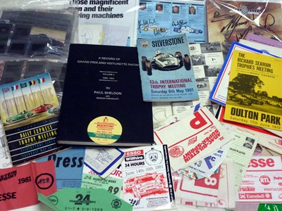 Lot 48 - Assorted Motor Racing Lot