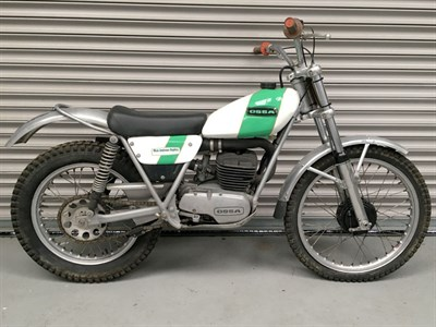 Lot 83-1972 Ossa Mick Andrews Replica 250