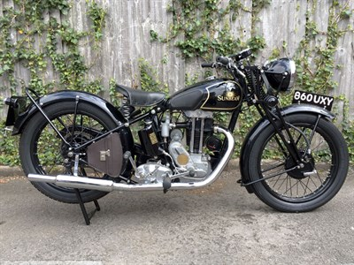 Lot 74-1936 Sunbeam Model 14