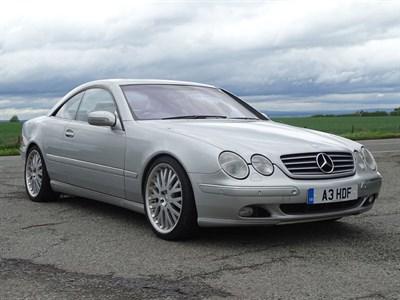 Lot 63-2000 Mercedes-Benz CL 500