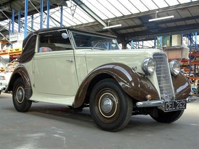 Lot 9-1936 Hillman Minx Tourer