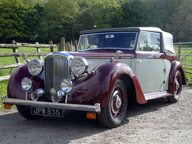 Lot 27-1949 Alvis TA14 Drophead Coupe