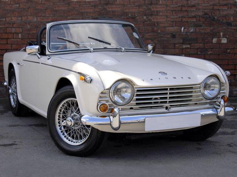 Lot 28-1966 Triumph TR4A