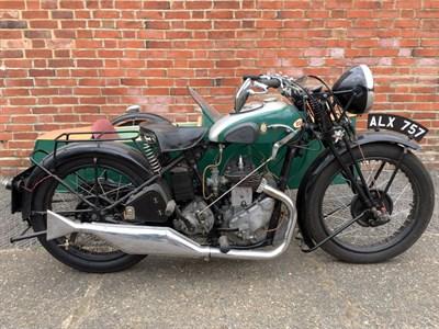 Lot 131-1933 BSA W35-6 Combination