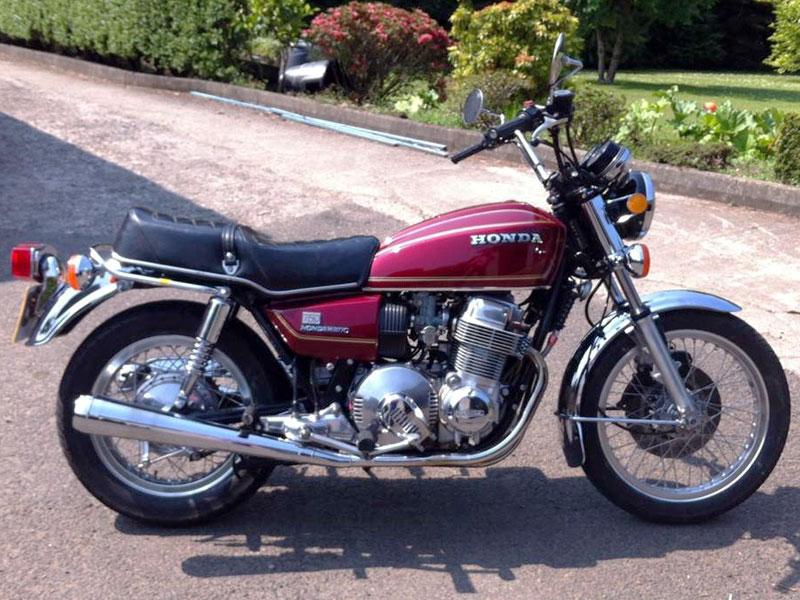 Lot 42-1977 Honda CB750A