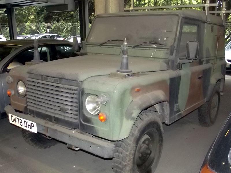 Lot 1-1990 Land Rover Defender 90