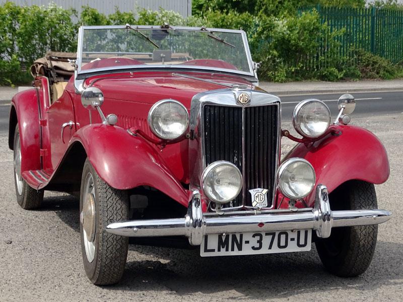 Lot 38-1953 MG TD