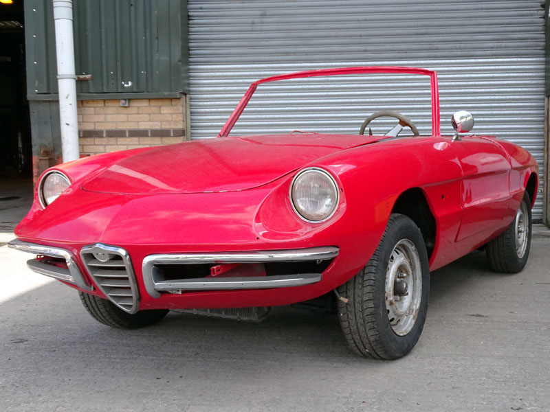 Lot 3-1966 Alfa Romeo Giulia 1600 Spider Duetto