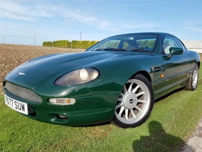Lot 1 - 1997 Aston Martin DB7