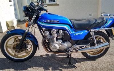 Lot 53-1983 Honda CB750 FD